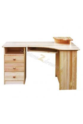 Rohový písací stôl ľavý