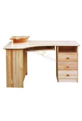 Rohový písací stôl pravý