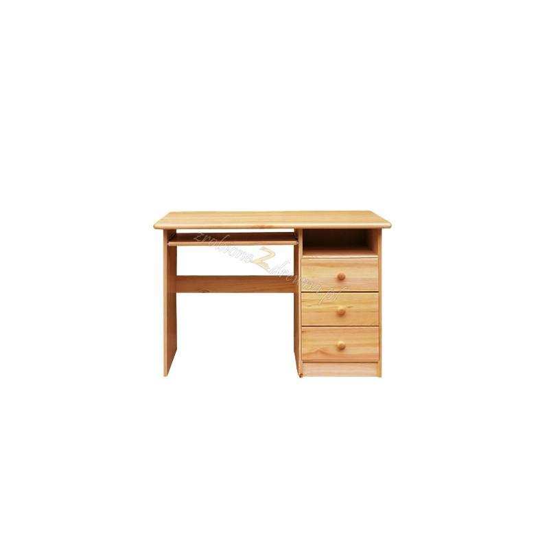 Borovicový písací stôl 3S>                                         <span class=