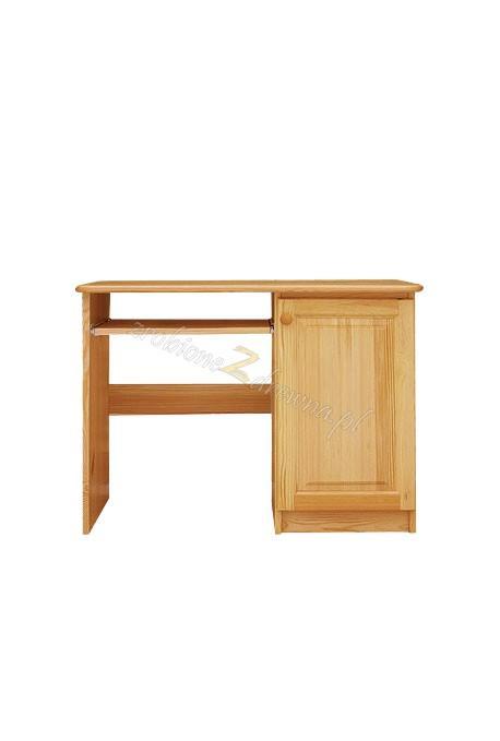 Borovicový písací stôl D
