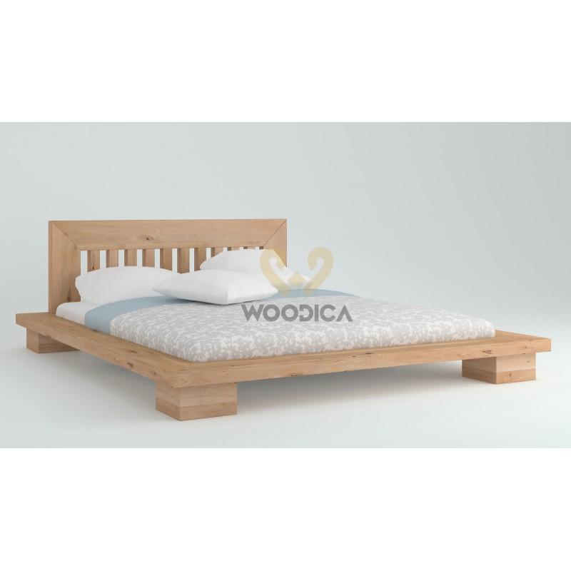 Łóżko dębowe Cerasus 01>                                         <span class=