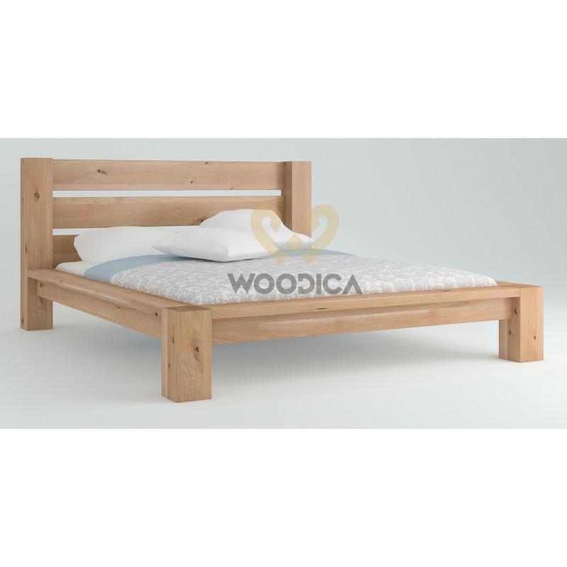 Łóżko dębowe Imperata 02>                                         <span class=