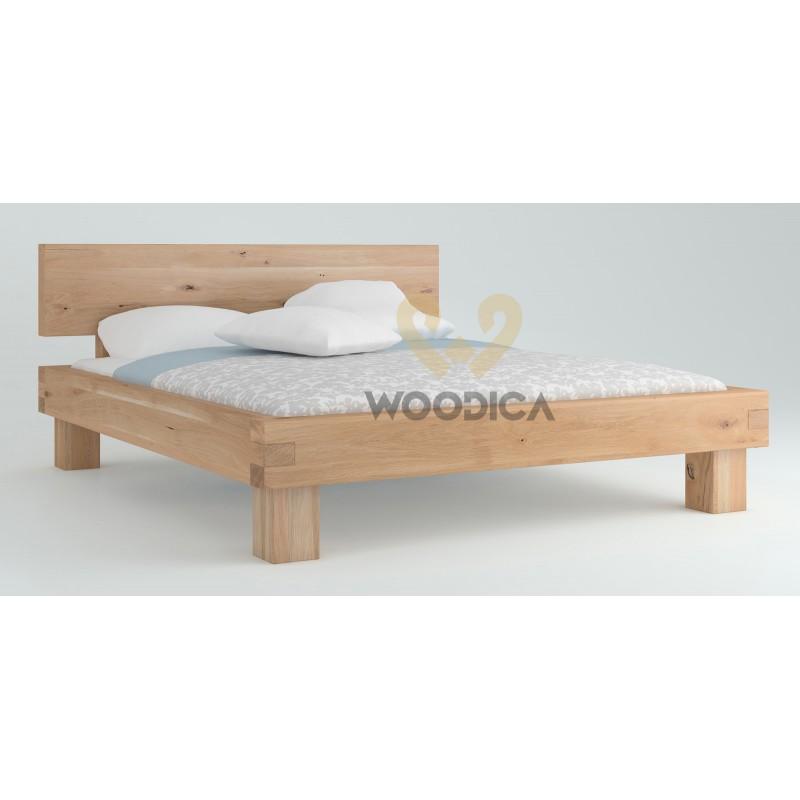 Łóżko dębowe Caragana 01>                                         <span class=