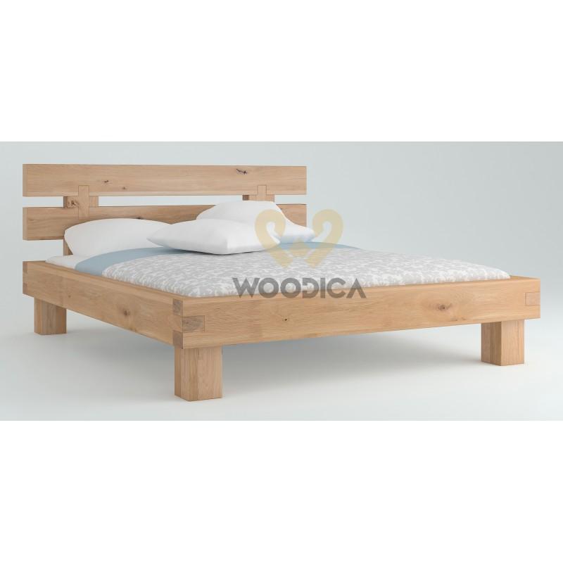 Łóżko dębowe Caragana 03>                                         <span class=