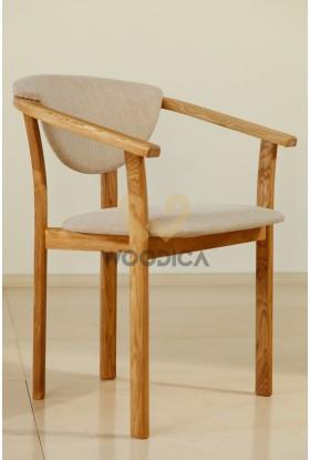 Fotel dębowy