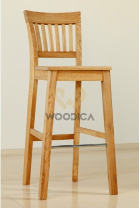 Krzesło dębowe barowe 01