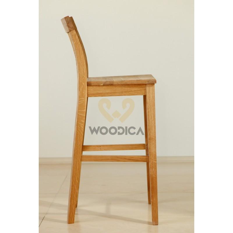 Krzesło dębowe barowe 01>                                         <span class=