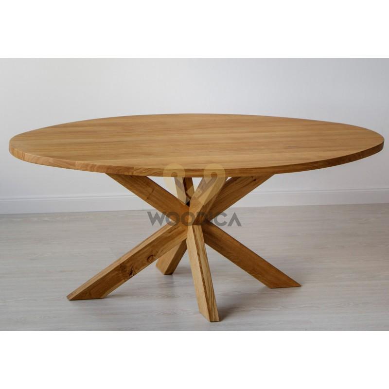 Stół masyw 07 Owal/Okrągły>                                         <span class=