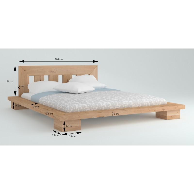 Łóżko dębowe Cerasus 02>                                         <span class=