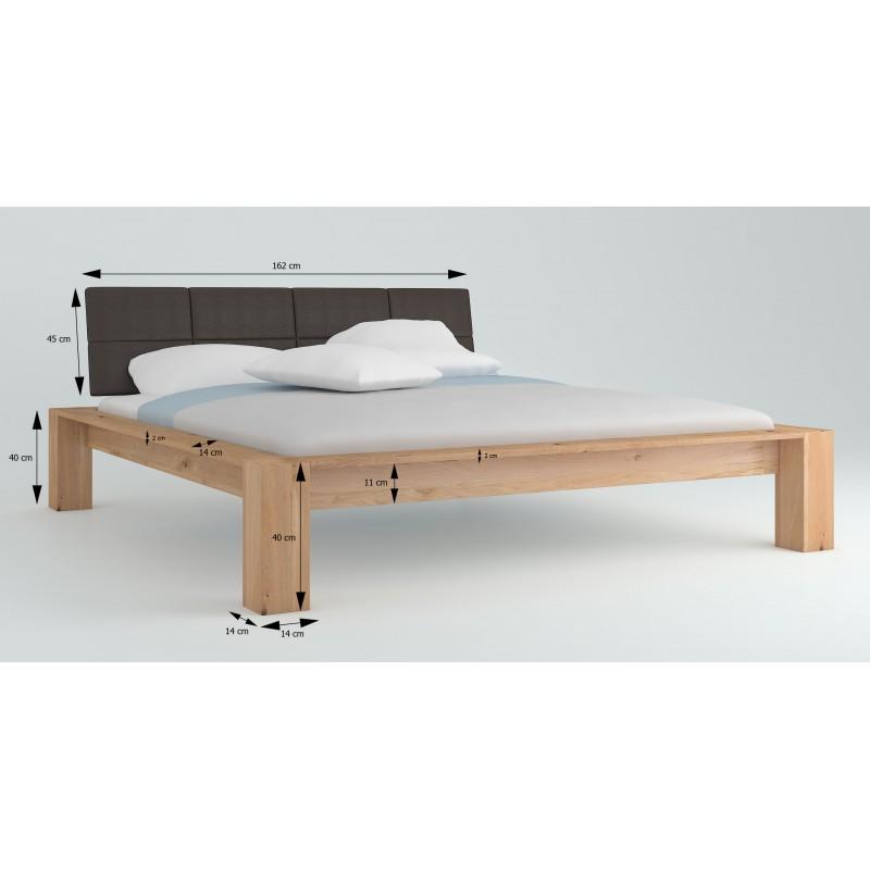 Łóżko dębowe Imperata 03>                                         <span class=