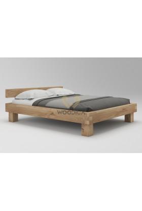 Łóżko dębowe Caragana 02