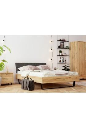 Łóżko dębowe Cornus 02