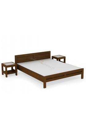 Brezová posteľ L3