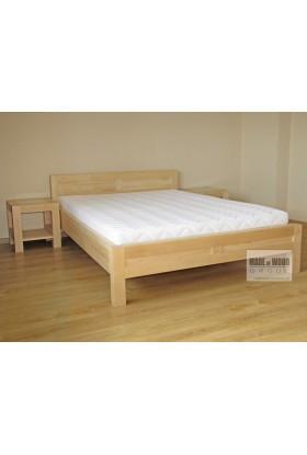 Brezová posteľ L4