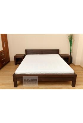 Brezová posteľ L5