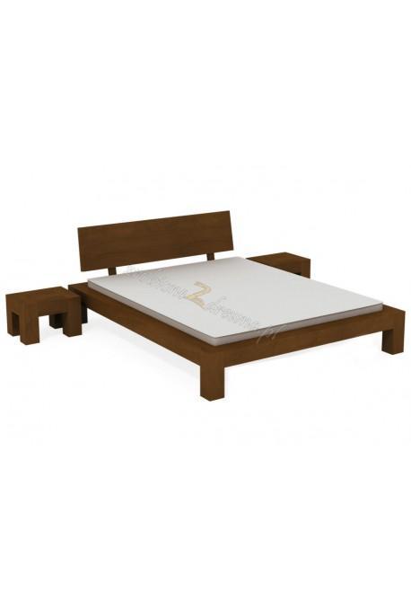 Brezová posteľ L6