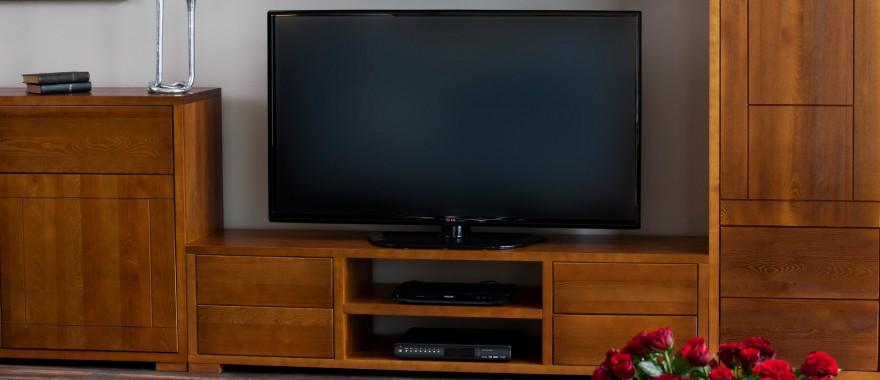 Drevená RTV skrinka Genua