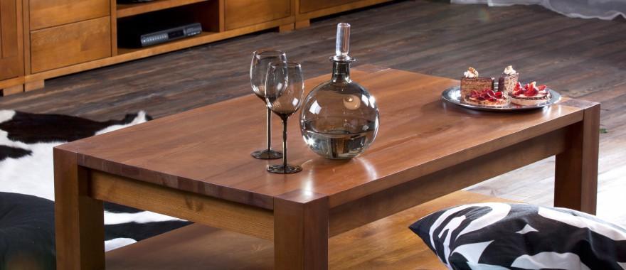 Drevený stôl Genua