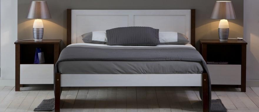 Drevená posteľ Milano