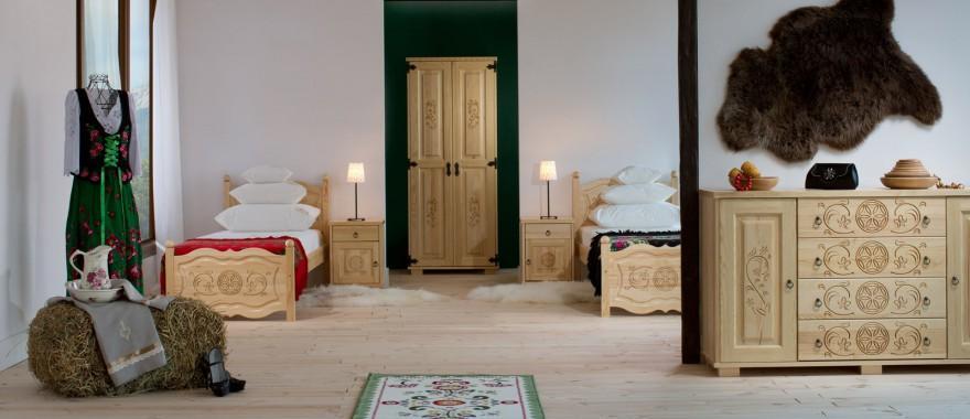 Borovicový nábytok kolekcia Horalská
