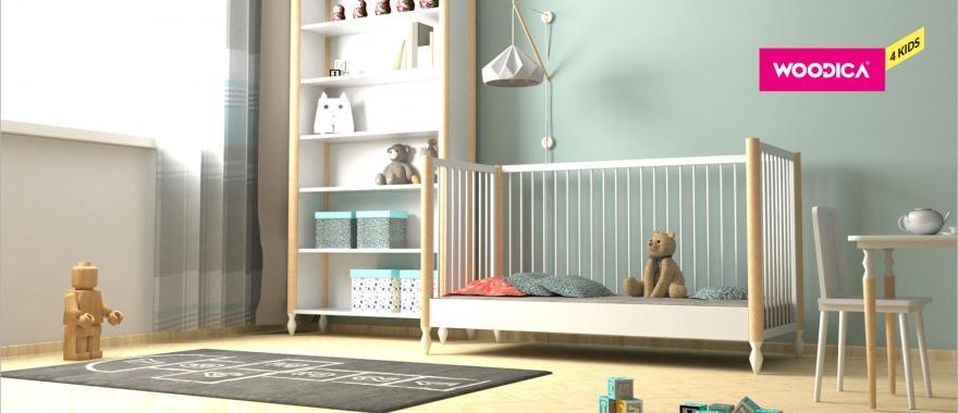 Biely detský nábytok Alice