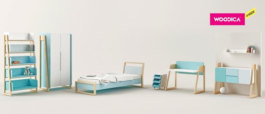 Detský nábytok z masívu Loll