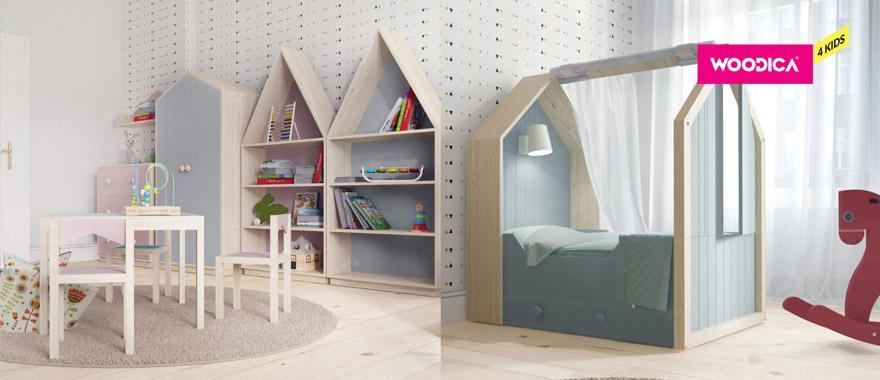 Detský nábytok z masívu forEster