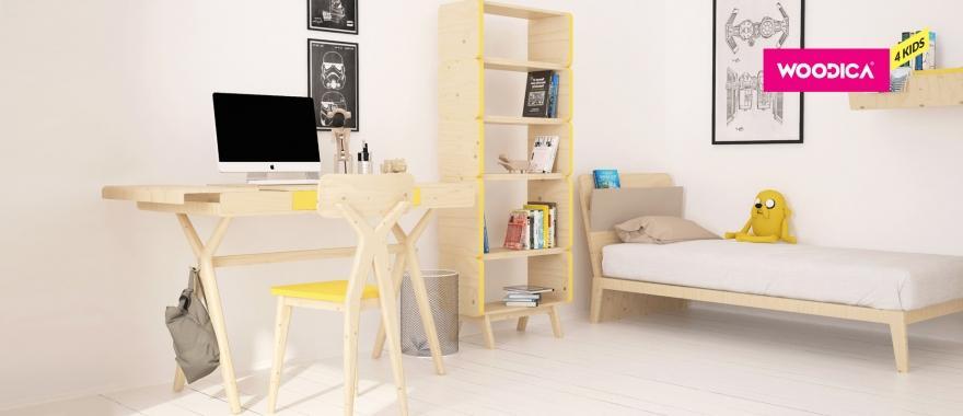 Borovicový detský nábytok Kogel Mogel